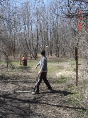 Founders Sports Park, The Farm, Hole 6 Long tee pad