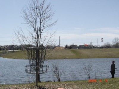 Founders Sports Park, The Farm, Hole 2 Reverse (back up the fairway)