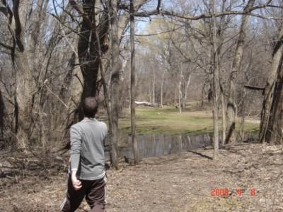 Founders Sports Park, The Farm, Hole 4 Long approach
