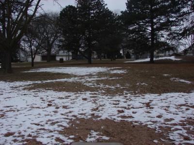 McNish Park, Main course, Hole 3 Short tee pad