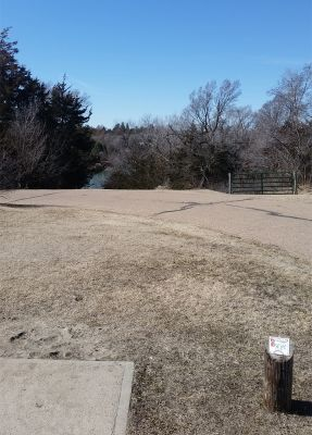 Cottonmill, Main course, Hole 6 Tee pad