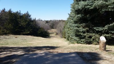Cottonmill, Main course, Hole 2 Tee pad
