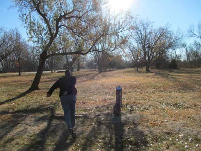 Fort Kearney State Rec Area, Main course, Hole 7 Tee pad