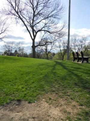 Memorial Park, Main course, Hole 15 Tee pad