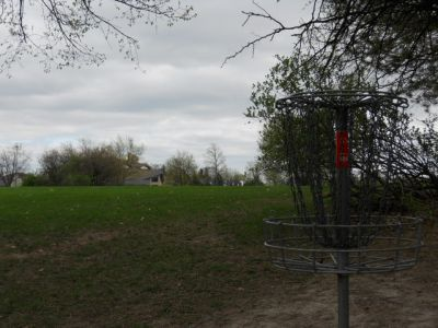 Memorial Park, Main course, Hole 6 Reverse (back up the fairway)