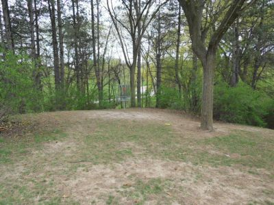 Memorial Park, Main course, Hole 6 Short approach
