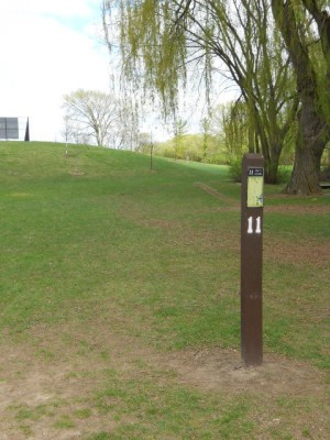 Memorial Park, Main course, Hole 11 Tee pad