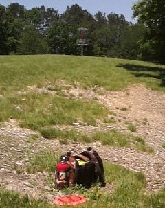 Memorial Park, Main course, Hole 12 Short approach