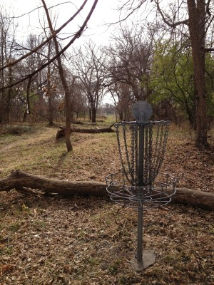Tierra Park, Scott Whitcomb Memorial, Hole 5 Reverse (back up the fairway)