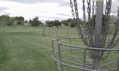 Ogallala Optimist Course, Main course, Hole 9 Reverse (back up the fairway)