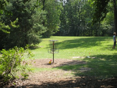 Tittabawassee Park, Main course, Hole 4 Short approach