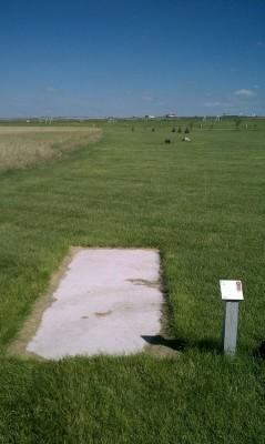 Deer Run Park, Main course, Hole 6 Tee pad