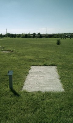 Deer Run Park, Main course, Hole 7 Tee pad
