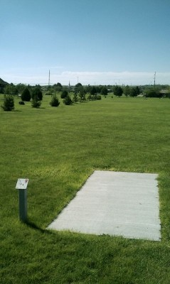 Deer Run Park, Main course, Hole 3 Tee pad