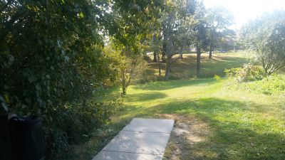 Crestmont, Main course, Hole 9 Long tee pad