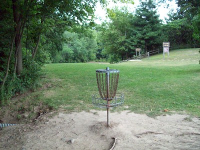 Fitzgerald Park, Main course, Hole 12 Reverse (back up the fairway)