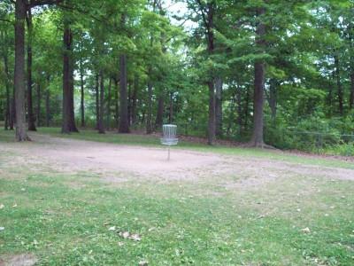 Fitzgerald Park, Main course, Hole 8 Short approach