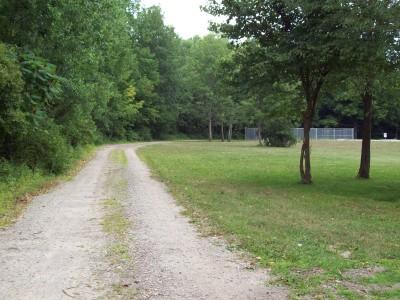Fitzgerald Park, Main course, Hole 17 Tee pad