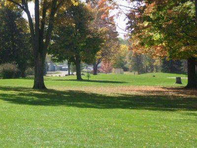 Fitzgerald Park, Main course, Hole 2 Midrange approach