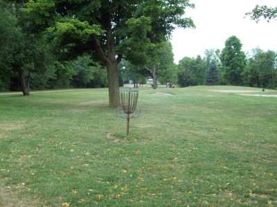 Fitzgerald Park, Main course, Hole 2 Putt