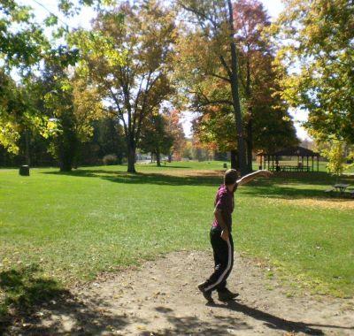 Fitzgerald Park, Main course, Hole 2 Tee pad