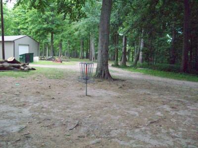 Fitzgerald Park, Main course, Hole 7 Short approach