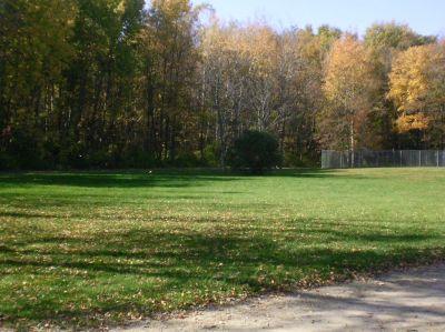 Fitzgerald Park, Main course, Hole 15 Tee pad
