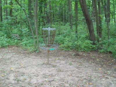 Fitzgerald Park, Main course, Hole 15 Putt