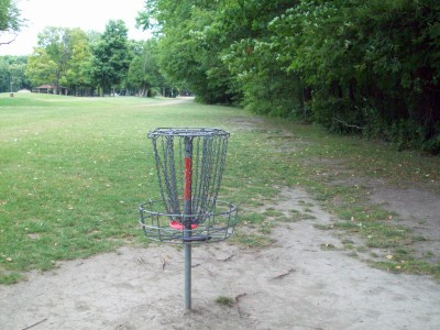Fitzgerald Park, Main course, Hole 3 Reverse (back up the fairway)
