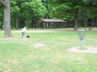 Fitzgerald Park, Main course, Hole 1 Putt