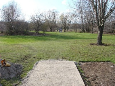 Lemon Lake County Park, Blue, Hole 9 Tee pad