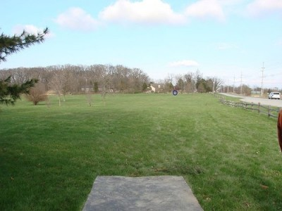 Lemon Lake County Park, Blue, Hole 6 Tee pad