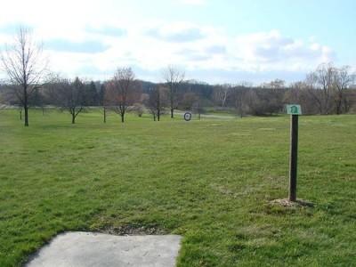 Lemon Lake County Park, Blue, Hole 8 Tee pad