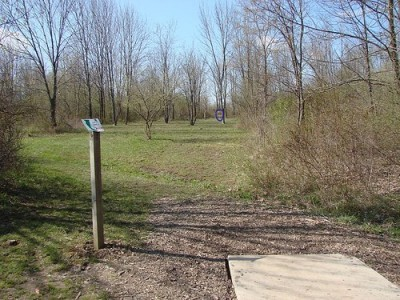 Lemon Lake County Park, Red, Hole 6 Tee pad