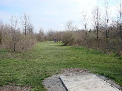Lemon Lake County Park, Red, Hole 10 Tee pad