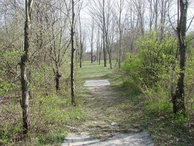 Lemon Lake County Park, Red, Hole 12 Tee pad