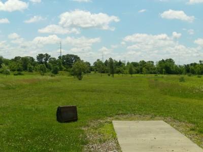 Lemon Lake County Park, Silver, Hole 8 Tee pad