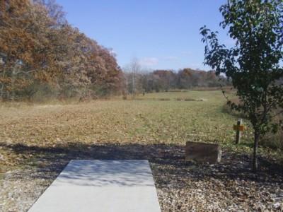 Lemon Lake County Park, Silver, Hole 7 Tee pad