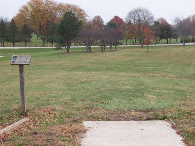 Shoaff Park, Main course, Hole 17 Tee pad
