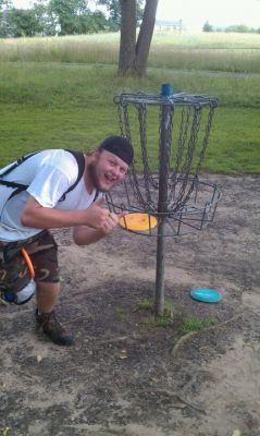 Earl W. Brewer Park, Blue course, Hole 9 Putt
