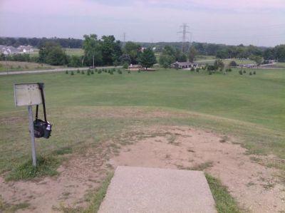 George Wilson Park, Main course, Hole 18 Tee pad