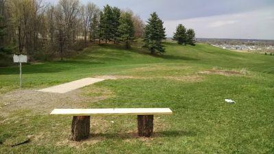 George Wilson Park, Main course, Hole 16 Tee pad