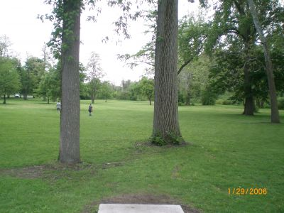 McCulloch, Main course, Hole 6 Tee pad