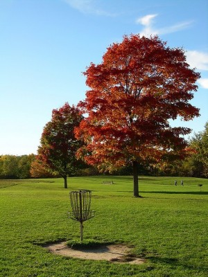 Earl W. Brewer Park, Red course, Hole 1 Reverse (back up the fairway)