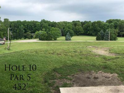 Ferrettie Baugo Creek County Park, Main course, Hole 10 Tee pad