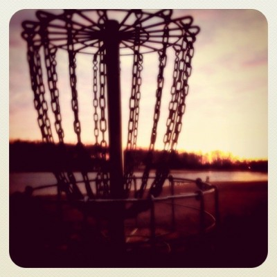Buffalo Trace Park, Main course, Hole 18 Putt