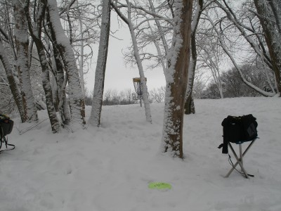 Rogers Lakewood Park, Main course, Hole 3 Putt