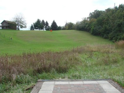 Rogers Lakewood Park, Main course, Hole 16 Tee pad