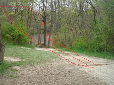 Rogers Lakewood Park, Main course, Hole 7