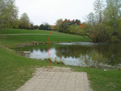 Rogers Lakewood Park, Main course, Hole 1